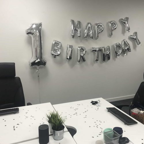 Happy 1st Birthday - Prescient Business Consulting